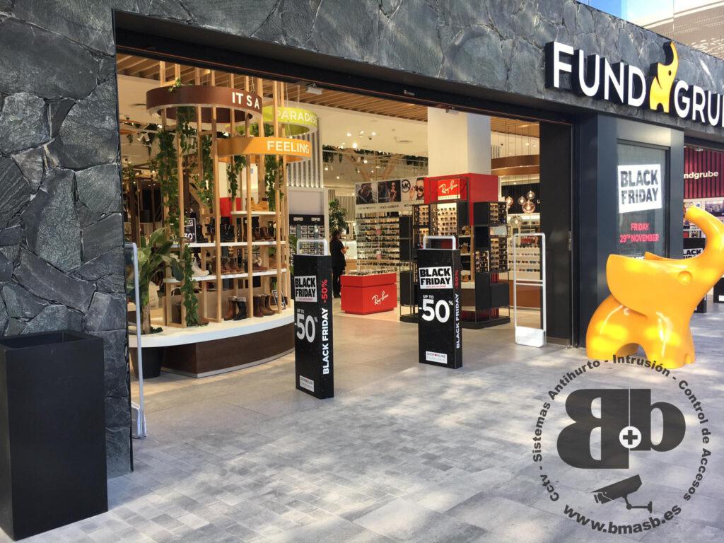 Instalacion de alarmas para tiendas Canarias