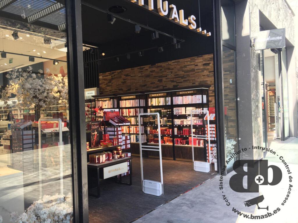 Alarmas antihurto para negocios Tenerife