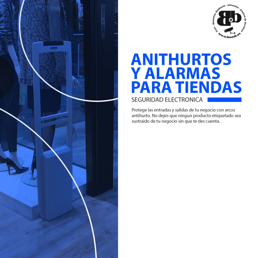 Arcos Antihurto y alarmas para tiendas Tenerife